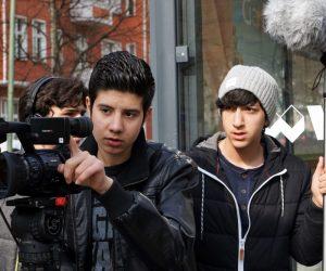 Ein filmpraktisches Projekt mit geflŸchteten und einheimischen Jugendlichen in Berlin und Brandenburg. 2. Tandem. Berlin, April 2016